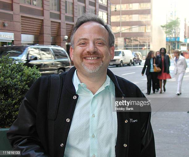 Marc Shaiman Director of Hairspray during Marc Shaiman Sighting in New York City May 24 2006 in New york City New York United States