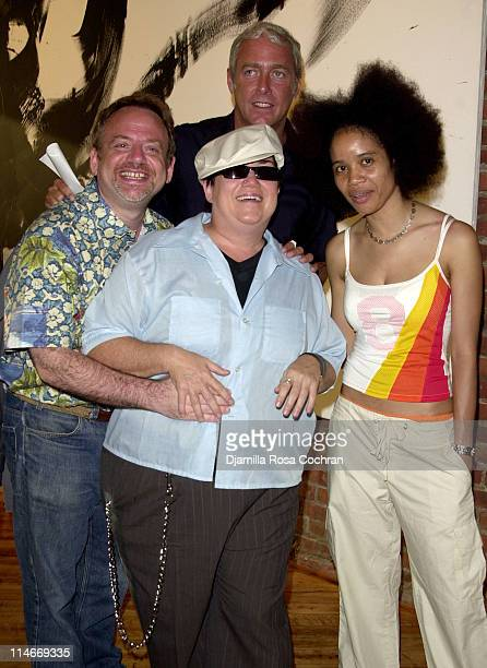 Marc Shaiman Lea DeLaria Scott Wittman and Staceyann Chin