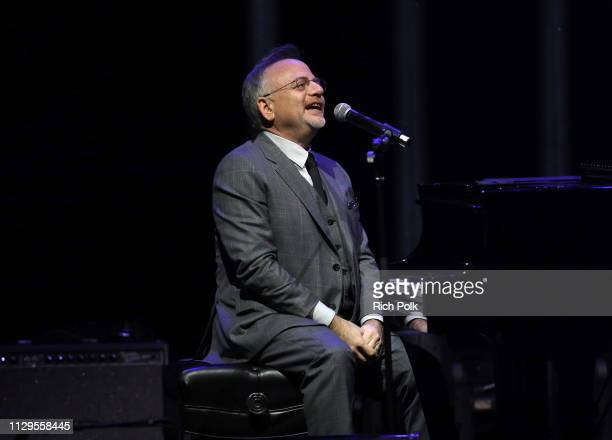 Marc Shaiman performs onstage during the 9th Annual Guild of Music Supervisors Awards on February 13 2019 at The Theatre at Ace Hotel in Los Angeles...