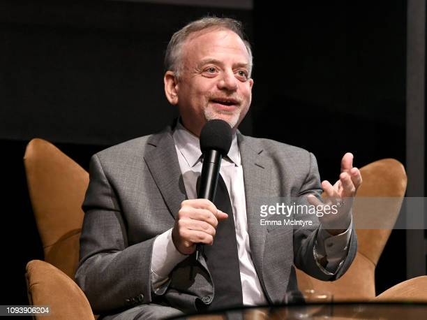 Marc Shaiman speaks onstage at the Variety Artisan's Awards during the 34th Santa Barbara International Film Festival at Arlington Theatre on...