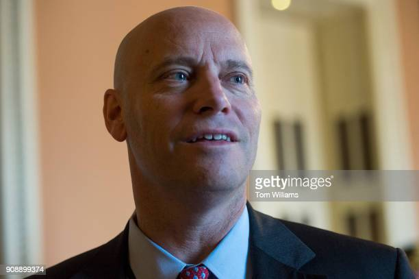 Marc Short White House legislative affairs director is seen near the Senate floor in the Capitol before the chamber voted to end debate on a...