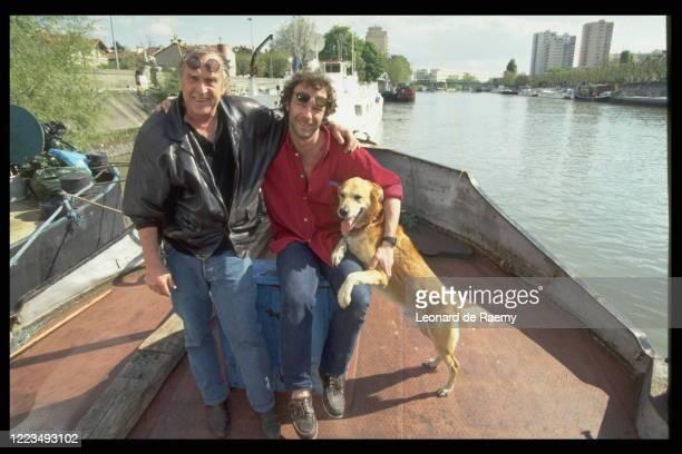 Marc Simenon and Serge Simenon