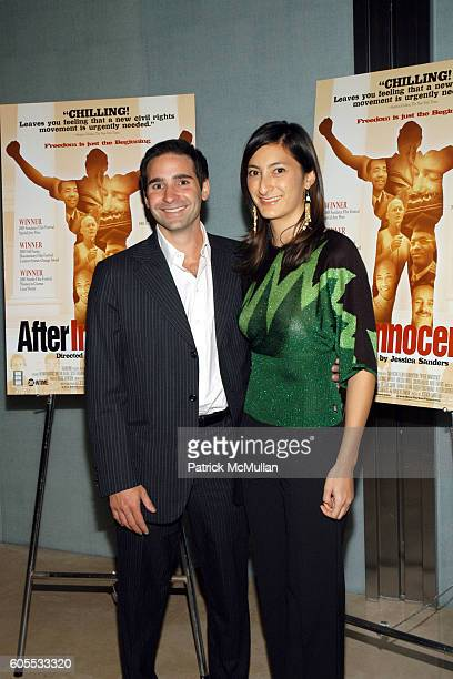 Marc Simon and Jessica Sanders attend After Innocence West Coast Premiere at MGM Tower Theater on January 10 2006 in Los Angeles California
