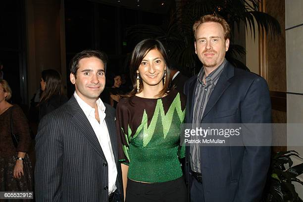 Marc Simon Jessica Sanders and Bob Greenblatt attend After Innocence West Coast Premiere at MGM Tower Theater on January 10 2006 in Los Angeles...