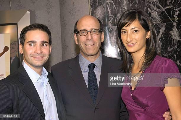 Marc Simon producer Matthew Blank and Jessica Sanders director