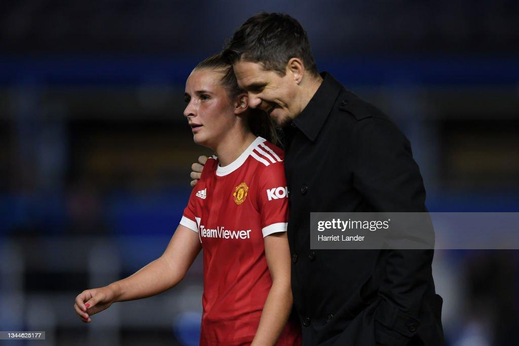 Birmingham City Women v Manchester United Women - Barclays FA Women's Super League : News Photo