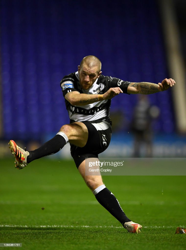 Warrington Wolves v Hull FC - Betfred Super League Play-Off : Nieuwsfoto's