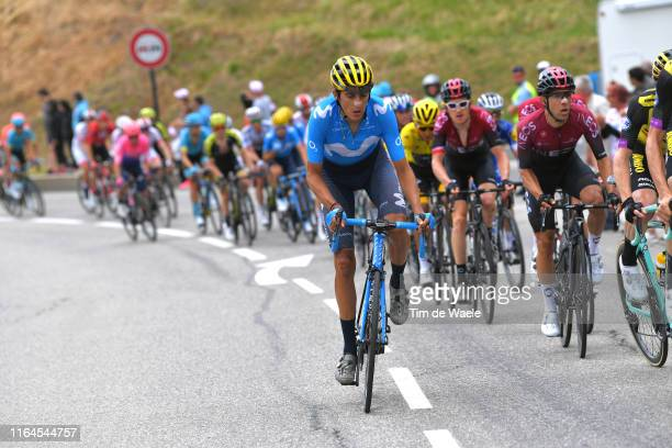 Marc Soler of Spain and Movistar Team / during the 106th Tour de France 2019, Stage 20 a 59,5km stage from Albertville to Val Thorens 2365m / Stage...