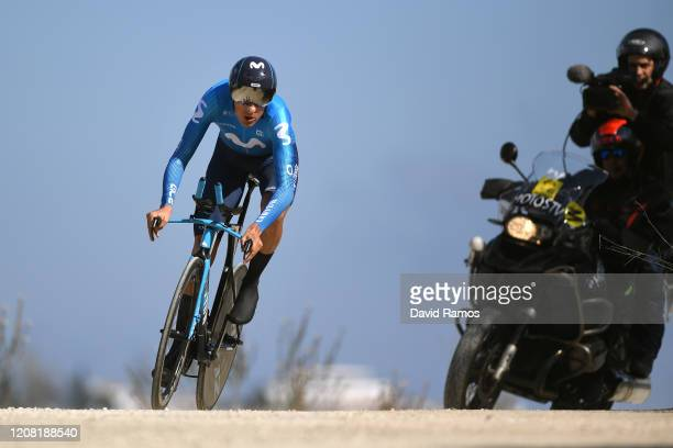 Marc Soler of Spain and Movistar Team / during the 66th Vuelta a Andalucía - Ruta del Sol 2020, Stage 5 a 13km Individual Time Trial from Mijas to...