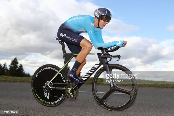Marc Soler of Spain and Movistar Team during the 76th Paris Nice 2018 / Stage 4 an Individual Time Trial of 184km from La Fouillouse to SaintEtienne...