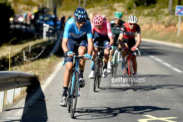 Marc Soler of Spain and Movistar Team / during the 99th Volta Ciclista a Catalunya 2019, Stage 4 a 150,3km stage from Llanars - Vall de Camprodon to...