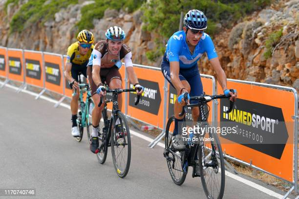 Marc Soler of Spain and Movistar Team / Pierre Latour of France and Team AG2R La Mondiale / during the 74th Tour of Spain 2019 - Stage 5 a 170,7km...