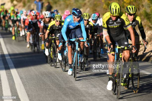 Marc Soler of Spain and Team Movistar / Peloton / during the 98th Volta Ciclista a Catalunya 2018 Stage 2 a 1756km stage from Mataro to Valls 237m on...