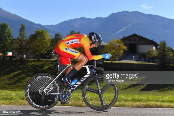 Marc Soler of Spain / during the Men Elite Individual Time Trial a 525km race from Rattenberg to Innsbruck 582m at the 91st UCI Road World...