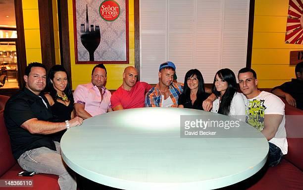 Marc Sorrentino Andrea Bevilacqua Frankie Jr Sorrentino Pete Dicataldo television personality Mike 'The Situation' Sorrentino Linda Sorrentino...