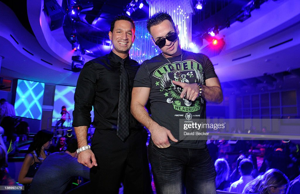 "Mike ""The Situation"" Sorrentino Celebrates Valentine's Day At Headrush Magic After Party At RPM Nightclub At Tropicana Las Vegas"