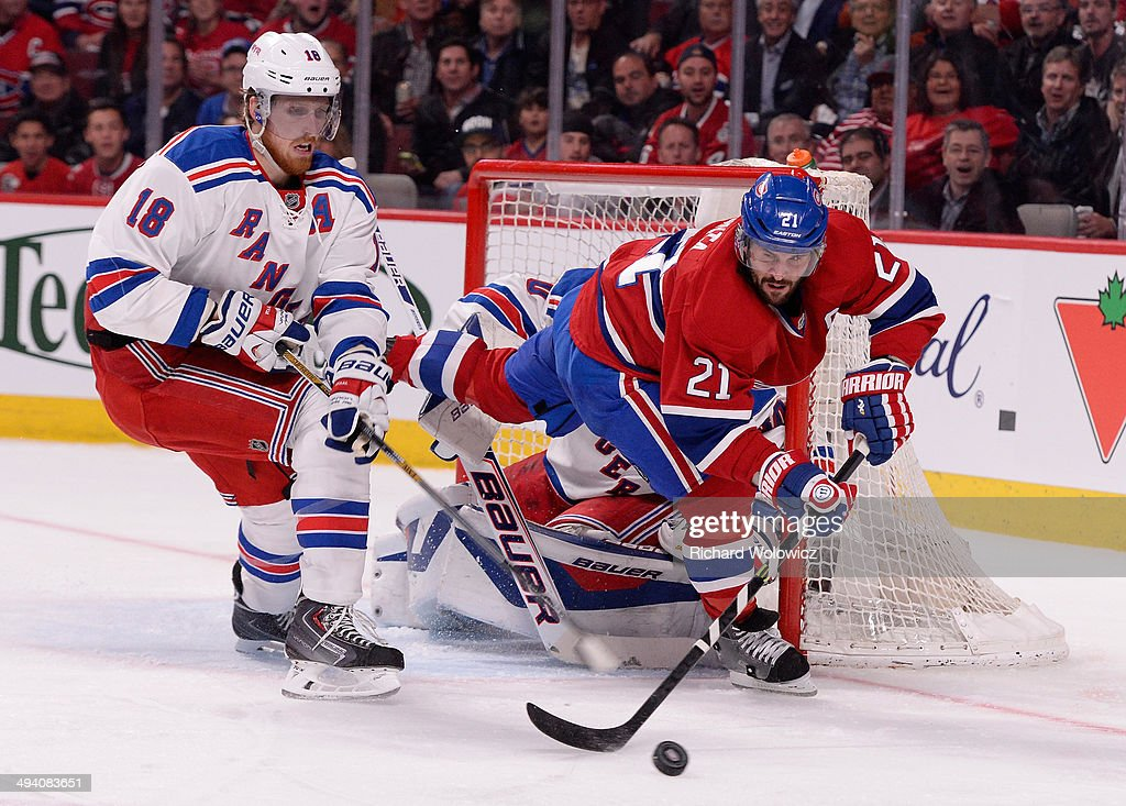 New York Rangers v Montreal Canadiens - Game Five : News Photo