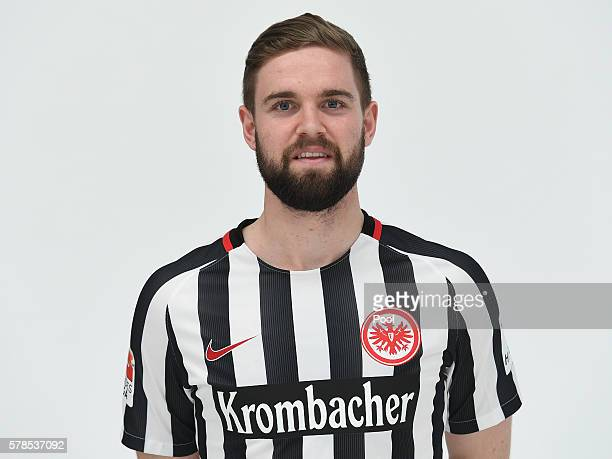 Marc Stendera poses during the Eintracht Frankfurt Team Presentation on July 21 2016 in Frankfurt am Main Germany