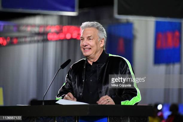 Marc Summers hosts Nickelodeon's Double Dare Takes The Gridiron At Super Bowl LIII at Georgia World Congress Center on January 31 2019 in Atlanta...