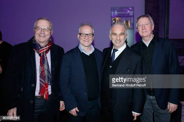 Marc Tessier General Delegate of the Cannes Film Festival Thierry Fremaux President of Academy des Cesars Alain Terzian and Director Regis Wargnier...