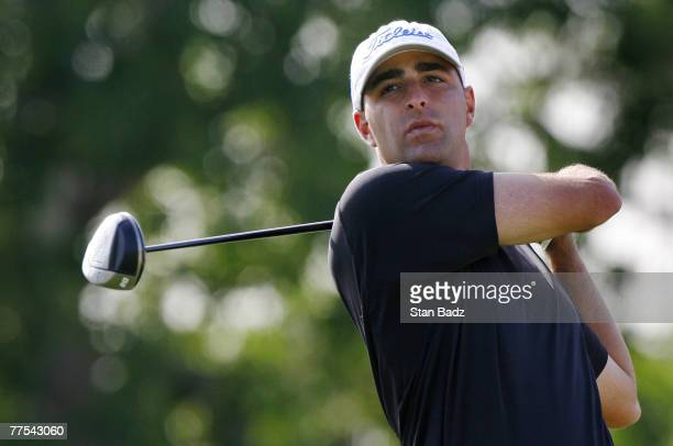 Marc Turnesa during the second round of the Livermore Valley Wine Country Championship held at The Course at Wente Vineyards in Livermore California...