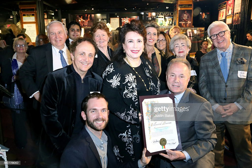 Marc Wanamaker, Dan Halden, Donelle Dadigan, and Tom LaBonge attend the Hollywood Museum Presents Annual Celebration of Entertainment Awards Exhibition at The Hollywood Museum on February 3, 2015 in Hollywood, California.