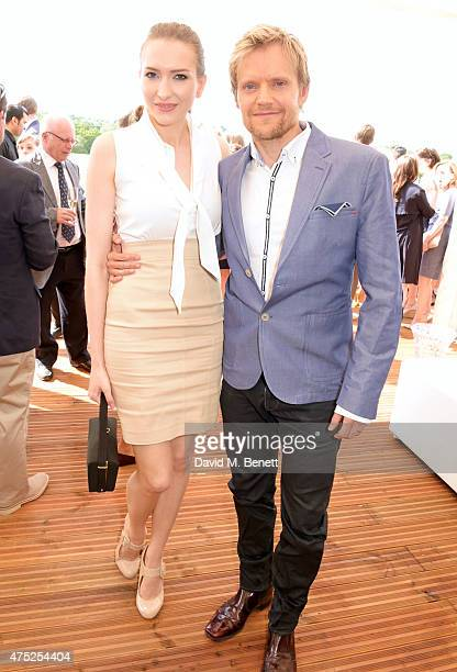 Marc Warren attends day one of the Audi Polo Challenge at Coworth Park on May 30 2015 in London England