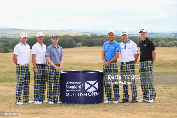 Marc Warren of Scotland Kevin Chappell of the USA Russell Knox of Scotland David Howell of England Stephen Gallacher of Scotland and Martin Laird of...