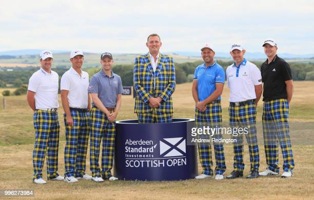 Marc Warren of Scotland Kevin Chappell of the USA Russell Knox of Scotland Doddie Weir David Howell of England Stephen Gallacher of Scotland and...