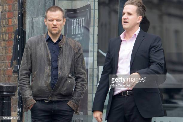 Marc Warren seen in Hampstead on October 6 2017 in London England