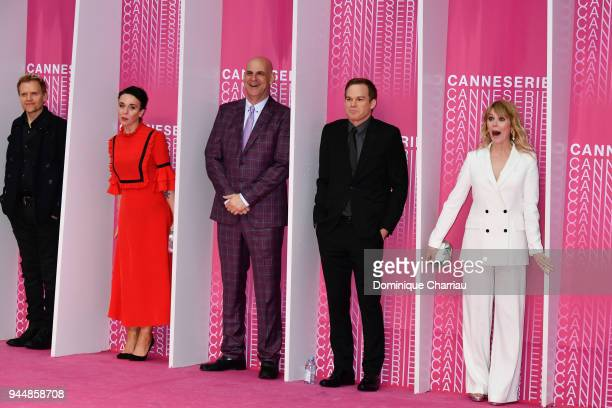 Marc WarrenAmanda Abbington Harlan CobenMichael C Hall and Hannah Jane Arterton from the serie 'Safe' attends the Closing Ceremony and 'Safe'...