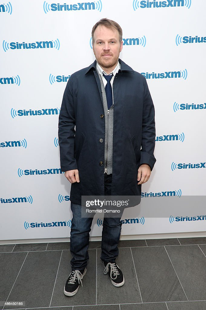 Marc Webb visits SiriusXM Studios on April 24, 2014 in New York City.