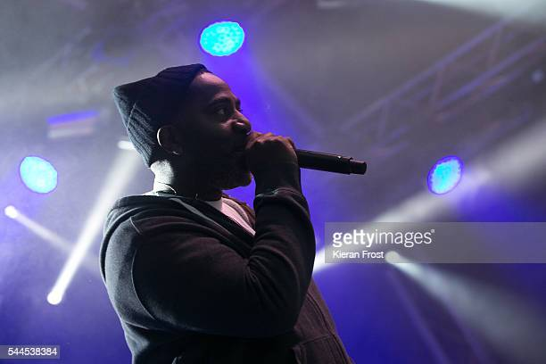 Marc7 of Jurassic 5 performs at CastlePalooza at Charville Castle on July 2, 2016 in Tullamore, Ireland.
