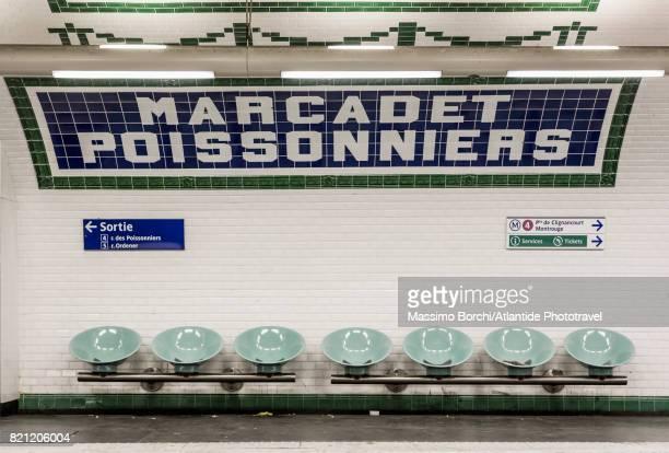 Marcadet Poissonniers Metro station