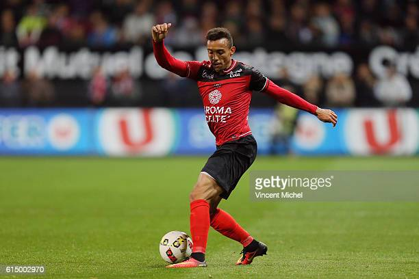 Marcal of Guingamp during the Ligue 1 match between EA Guingamp and Lille OCS at Stade du Roudourou on October 15, 2016 in Guingamp, France.