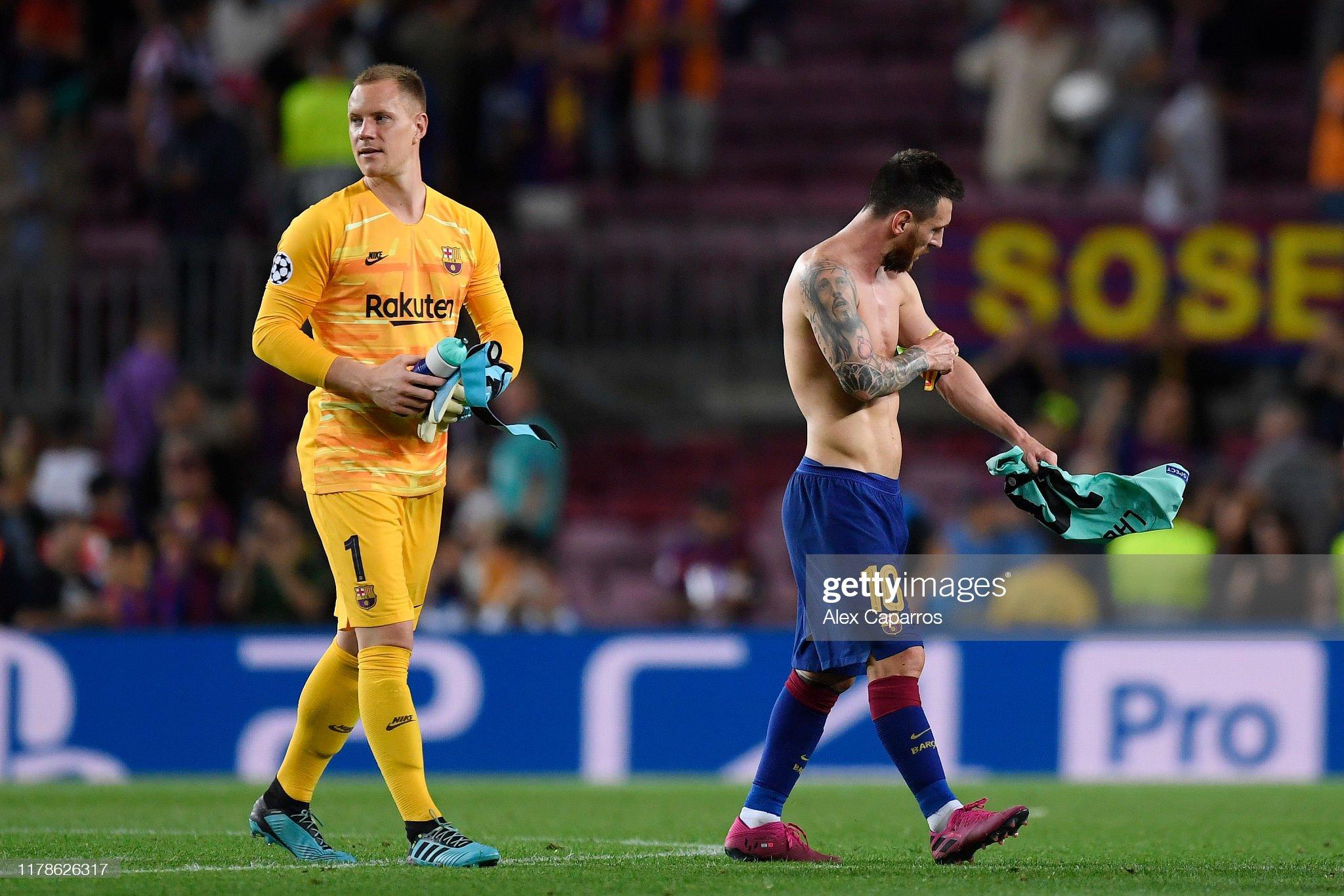 صور مباراة : برشلونة - إنتر 2-1 ( 02-10-2019 )  Marcandr-ter-stegen-and-lionel-messi-of-fc-barcelona-after-the-match-picture-id1178626317?s=2048x2048