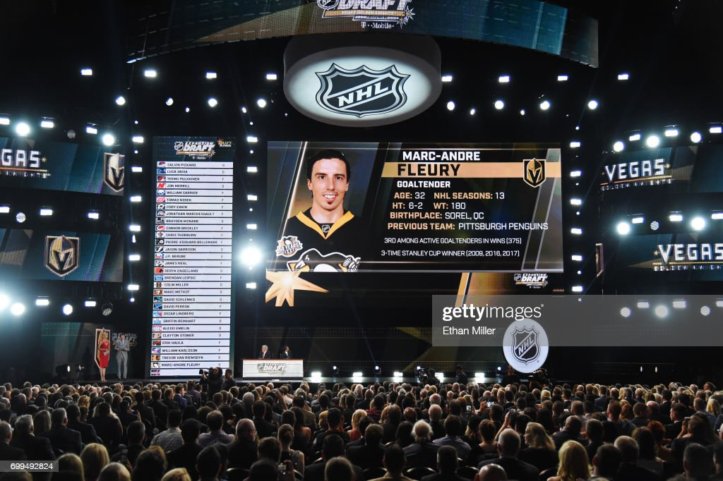 2017 NHL Awards And Expansion Draft : News Photo