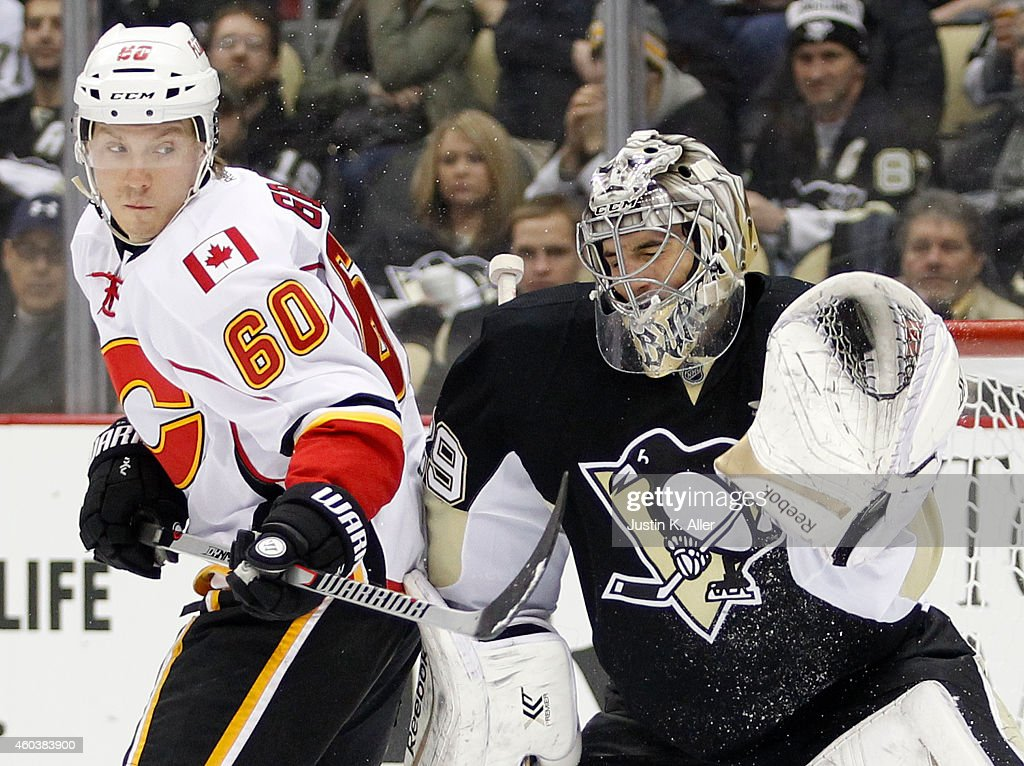 Calgary Flames v Pittsburgh Penguins