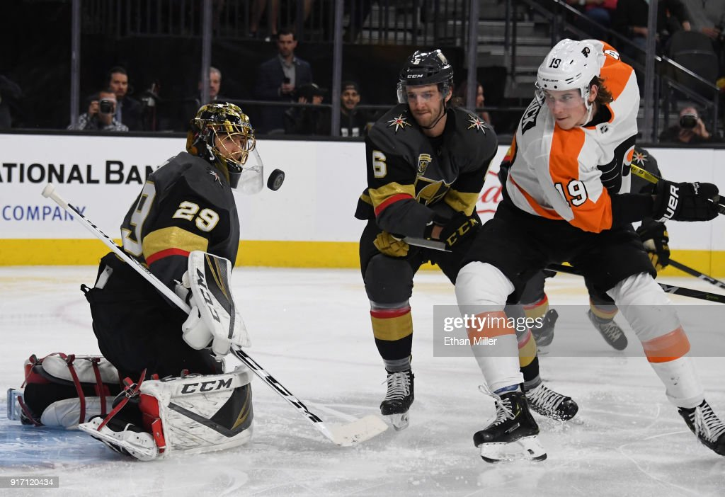 Philadelphia Flyers v Vegas Golden Knights : News Photo