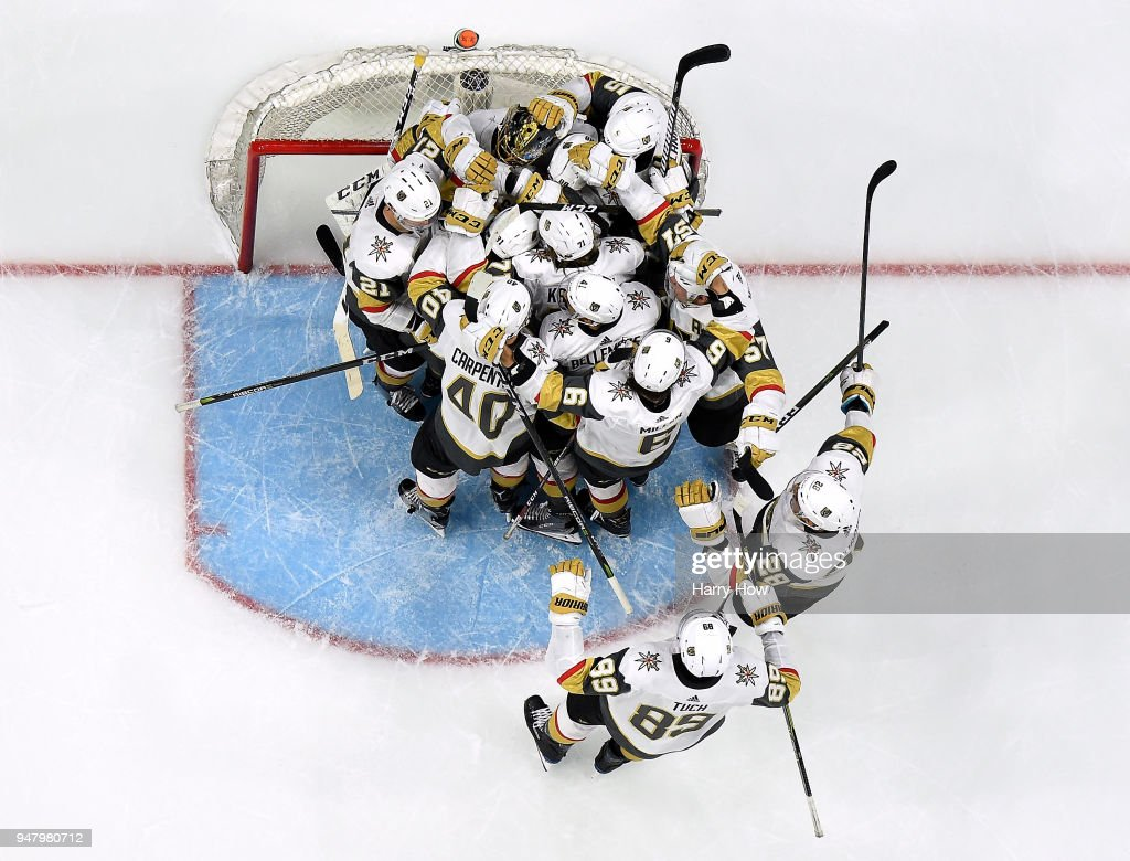 Vegas Golden Knights v Los Angeles Kings - Game Four : News Photo