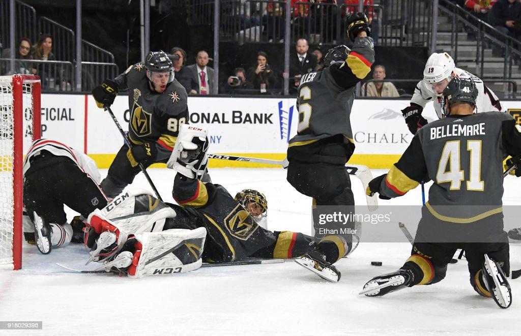 Chicago Blackhawks v Vegas Golden Knights : News Photo