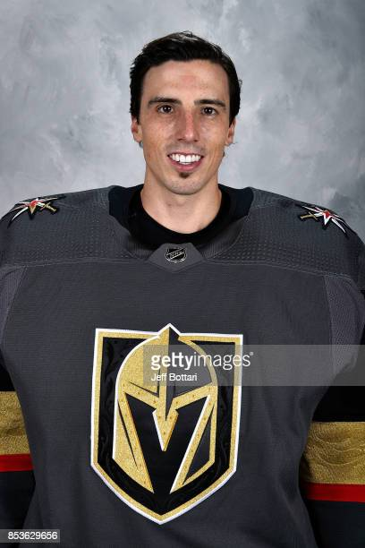 MarcAndre Fleury of the Vegas Golden Knights poses for his official headshot for the 20172018 season on September 14 2017 at the City National Arena...