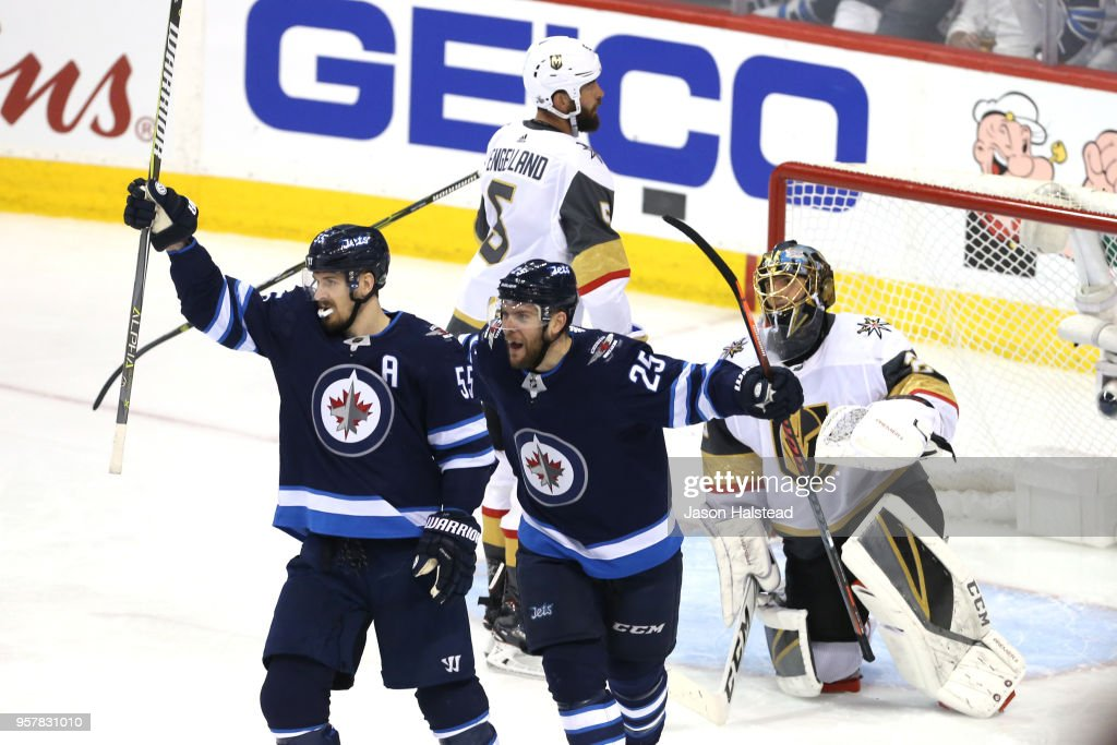 Vegas Golden Knights v Winnipeg Jets - Game One