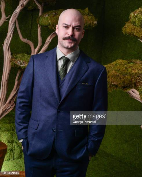 MarcAndre Grondin poses in the 2018 Canadian Screen Awards Broadcast Gala Portrait Studio at Sony Centre for the Performing Arts on March 11 2018 in...