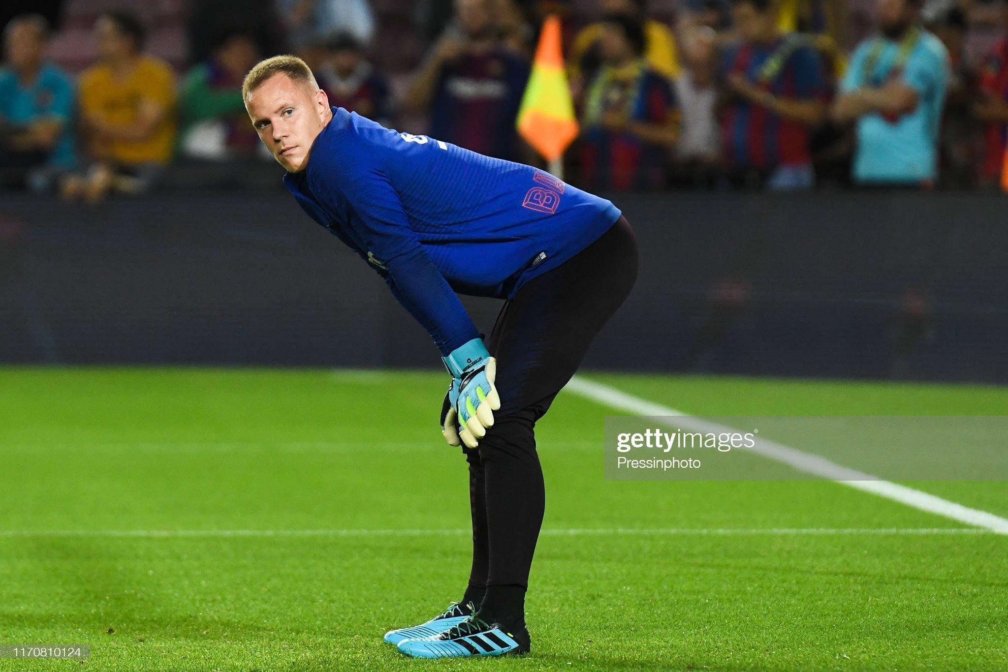 صور مباراة : برشلونة - فياريال 2-1 ( 24-09-2019 )  Marcandre-ter-stegen-of-fc-barcelona-during-the-liga-match-between-picture-id1170810124?s=2048x2048