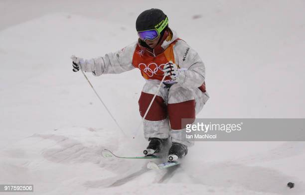MarcAntoine Gagnon of Canada competes in the Men's Moguls at Phoenix Snow Park on February 12 2018 in Pyeongchanggun South Korea