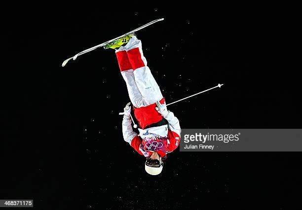 MarcAntoine Gagnon of Canada competes in the Men's Moguls Finals on day three of the Sochi 2014 Winter Olympics at Rosa Khutor Extreme Park on...