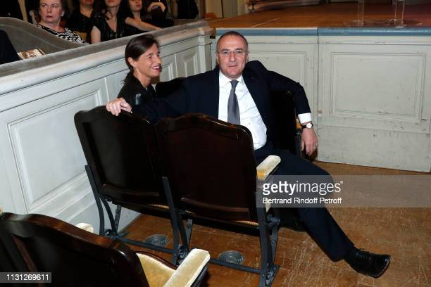 MarcAntoine Jamet and his wife attend the Fondation Prince Albert II De Monaco Evening at Salle Gaveau on February 21 2019 in Paris France