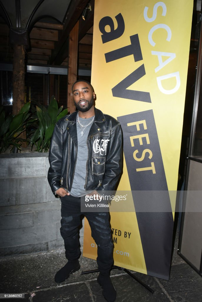 Marcc Rose attends SCAD aTVfest x EW Party on February 2, 2018 in Atlanta, Georgia.