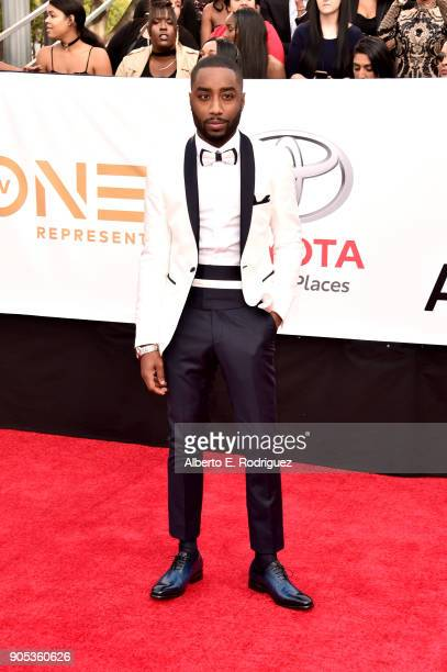Marcc Rose attends the 49th NAACP Image Awards at Pasadena Civic Auditorium on January 15, 2018 in Pasadena, California.